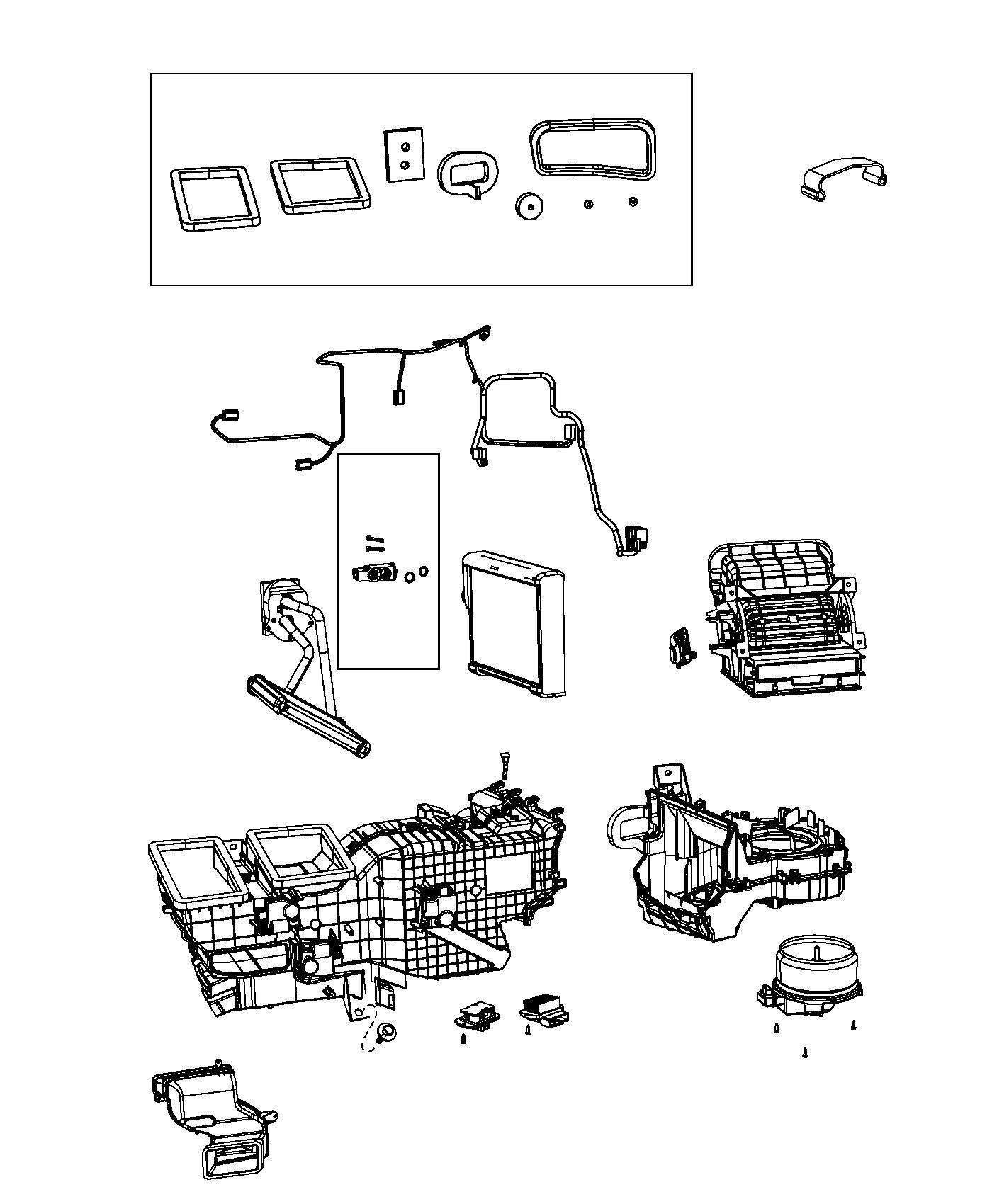 Dodge Ram Housing Distribution Includes Doors Plate Coupler Packing Haa