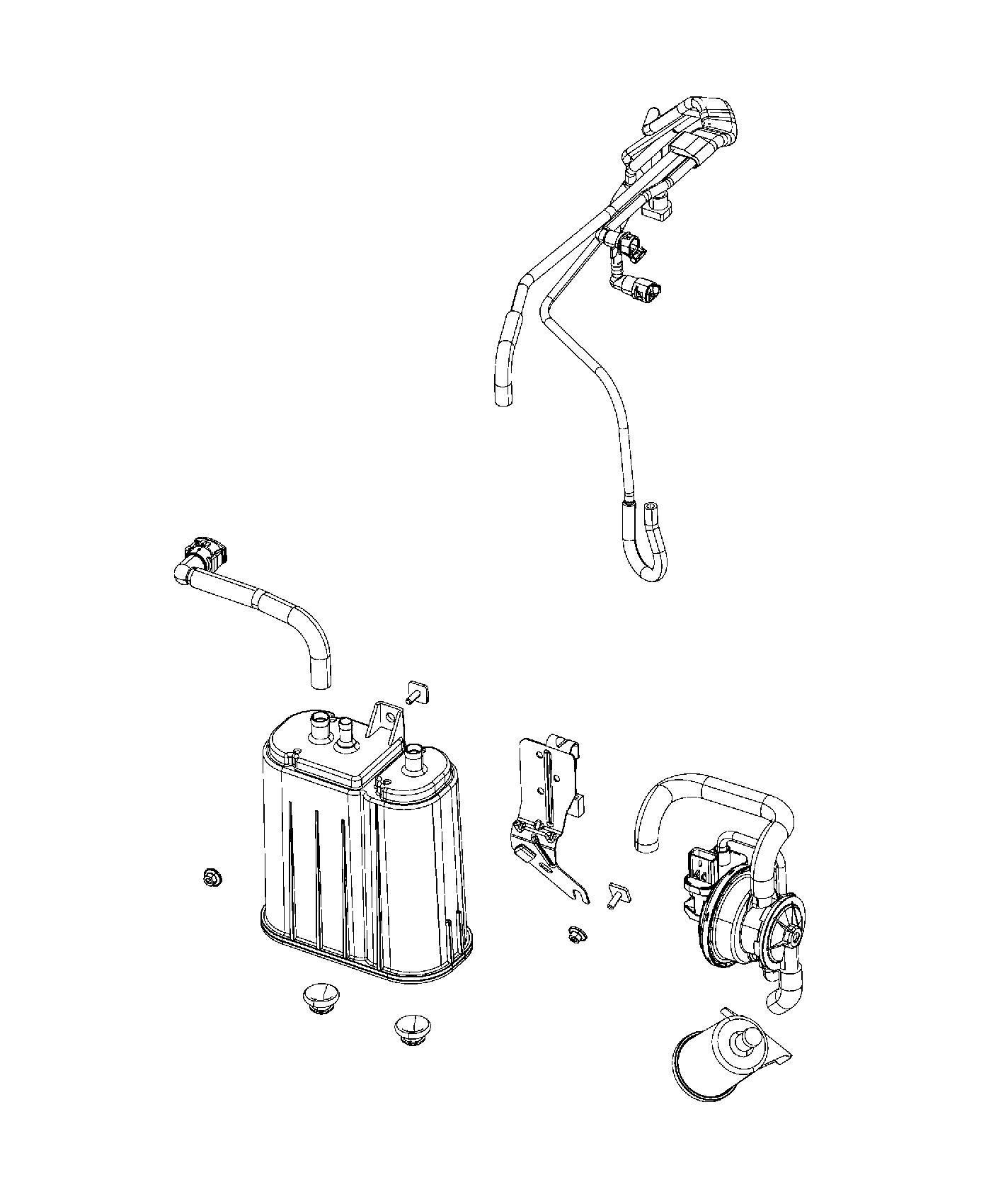 Dodge Viper Filter Fuel Vapor Vent Leak Detection