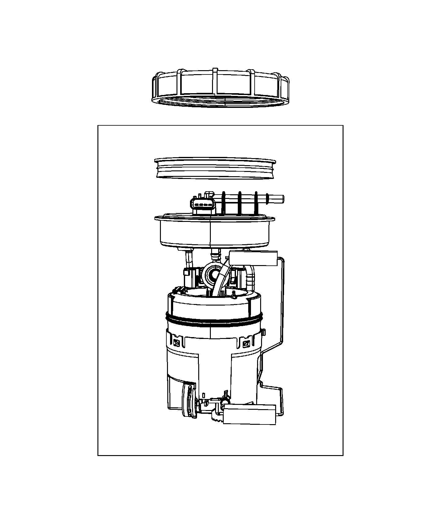 Dodge Viper Module Kit Fuel Pump Level Unit 16 Gallon