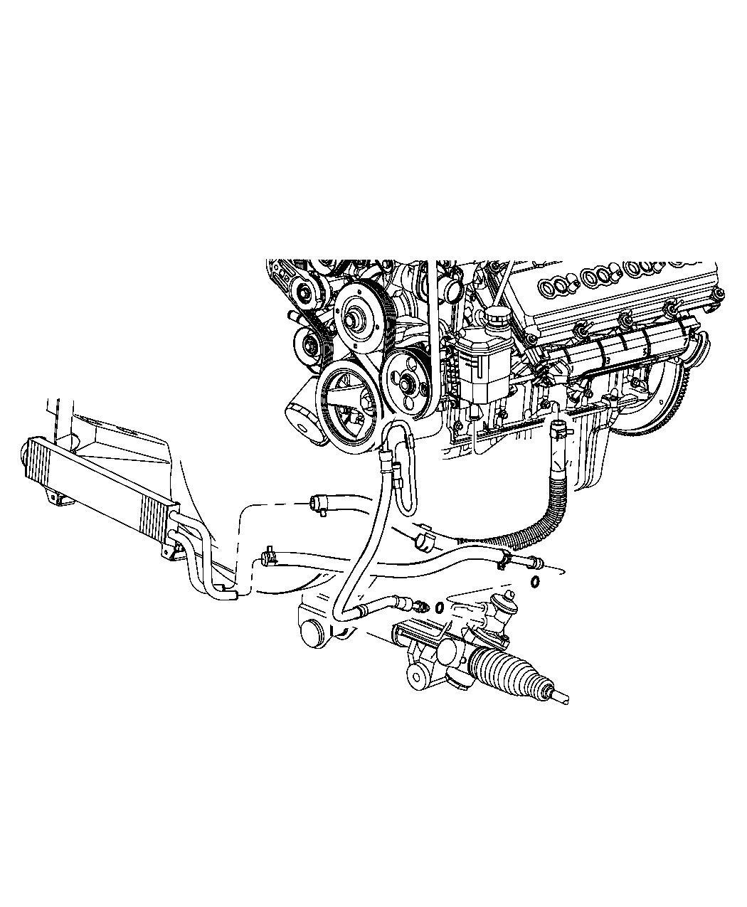 Ram Cooler Power Steering Front End Parts Module