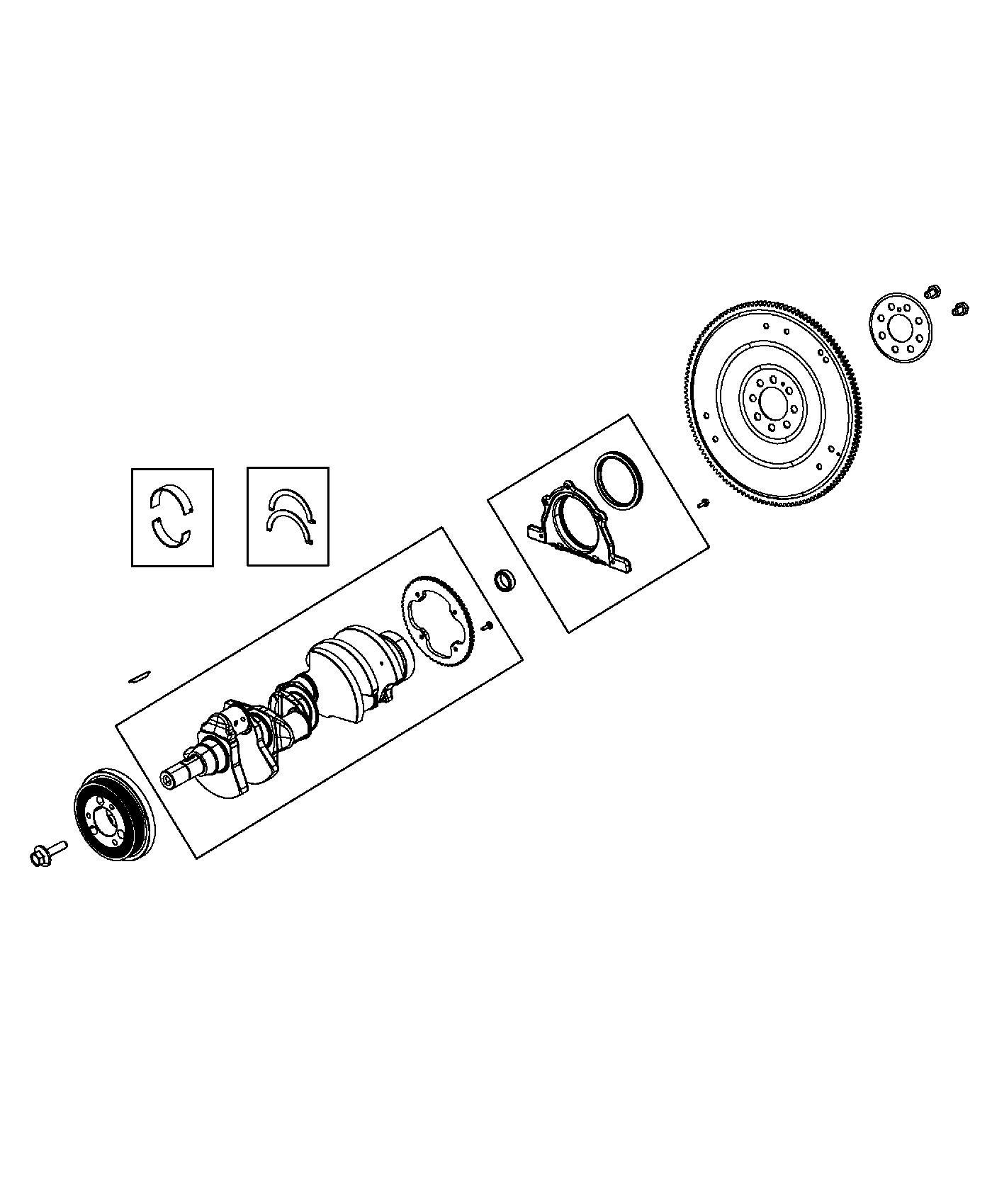 Ram Bearing Kit Crankshaft B Grade Standard