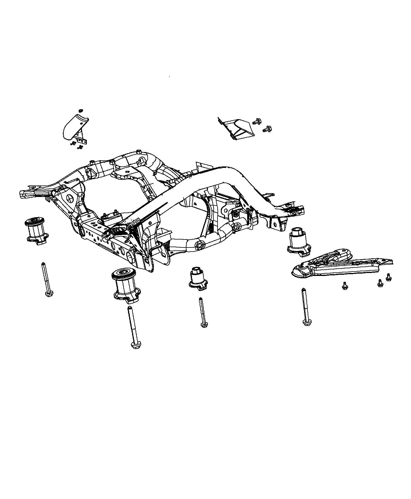 Jeep Grand Cherokee Damper Mass Front Suspension
