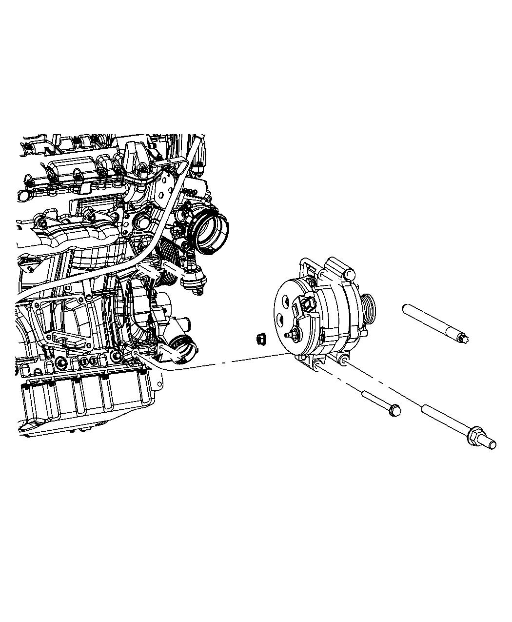 Jeep Grand Cherokee Generator Engine 220 Amp