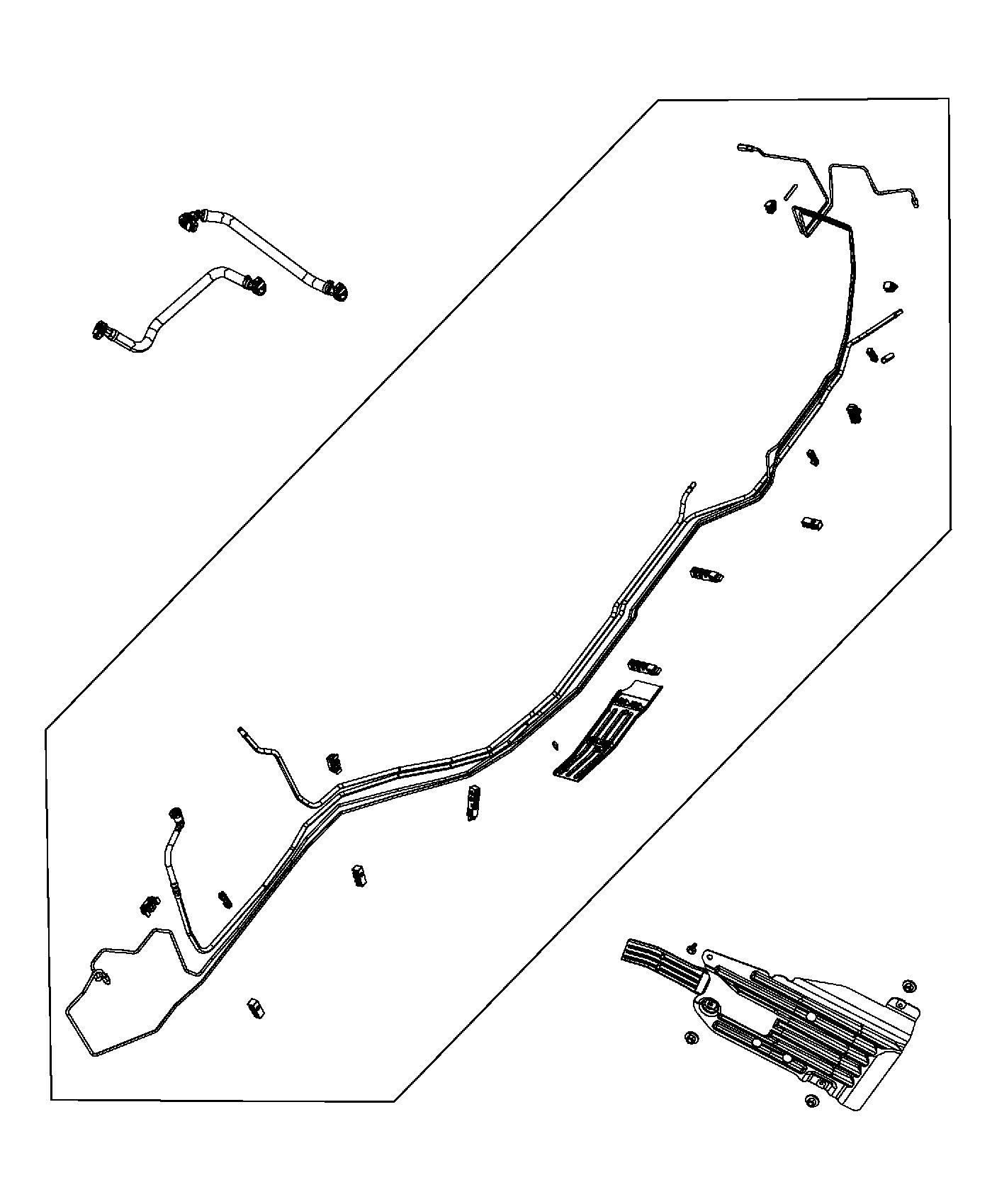 Jeep Grand Cherokee Bundle Fuel Line Lines System