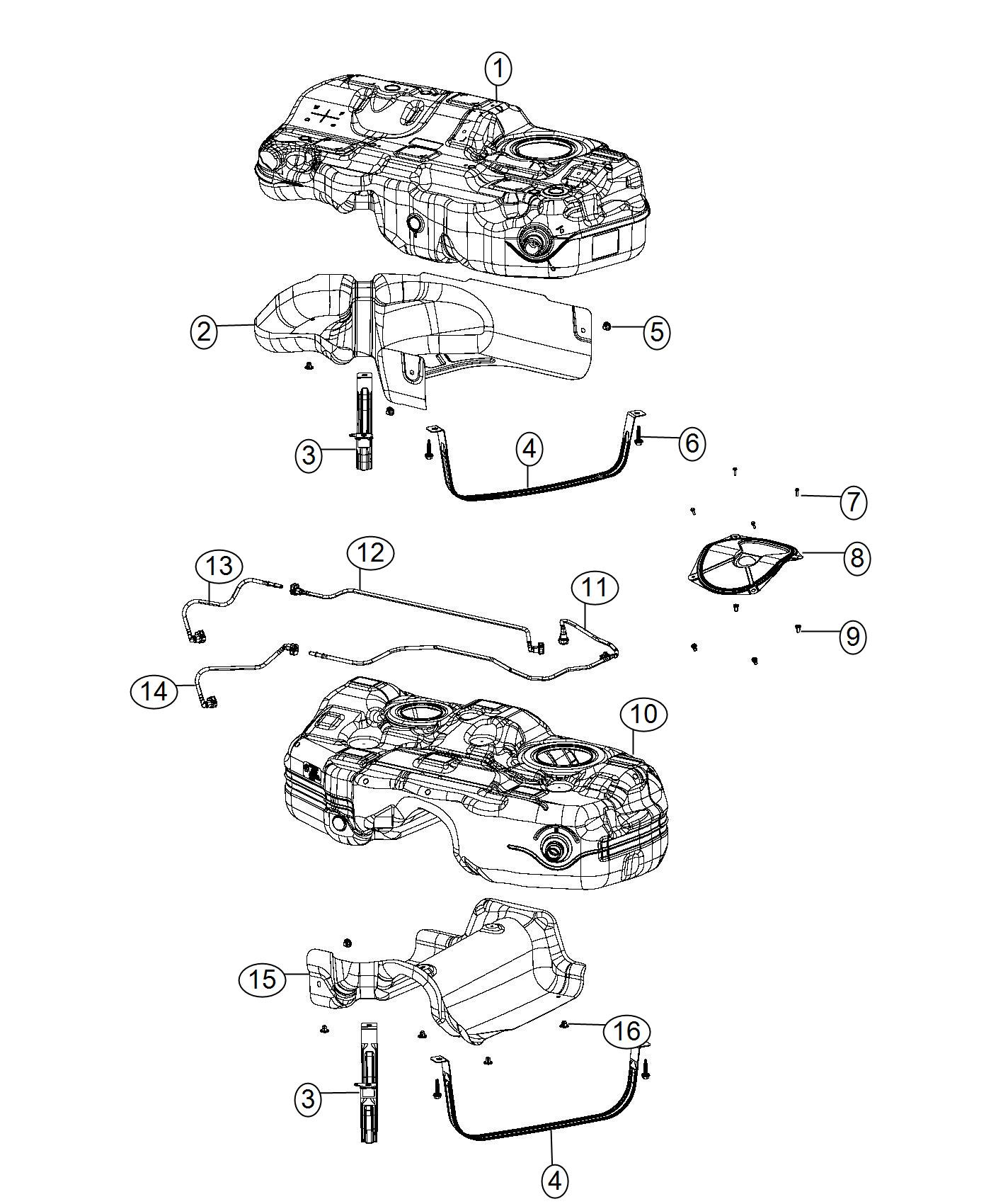 Jeep Cherokee Hose Fuel Supplysel Supply Line