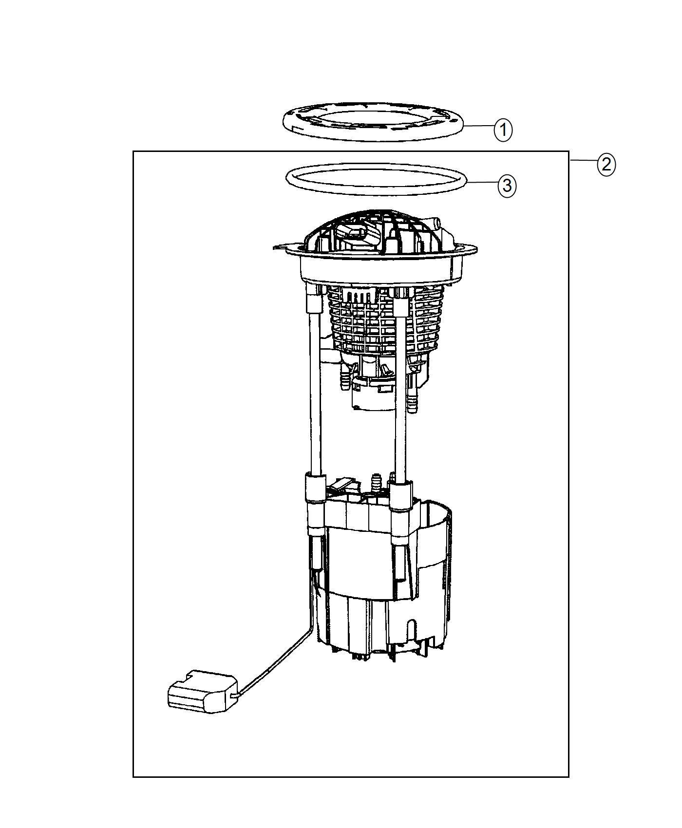 Ram Module Kit Fuel Pump Level Unit