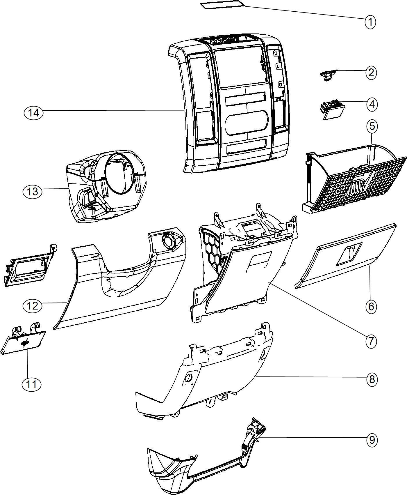 Ram Upfitter Fuse Box