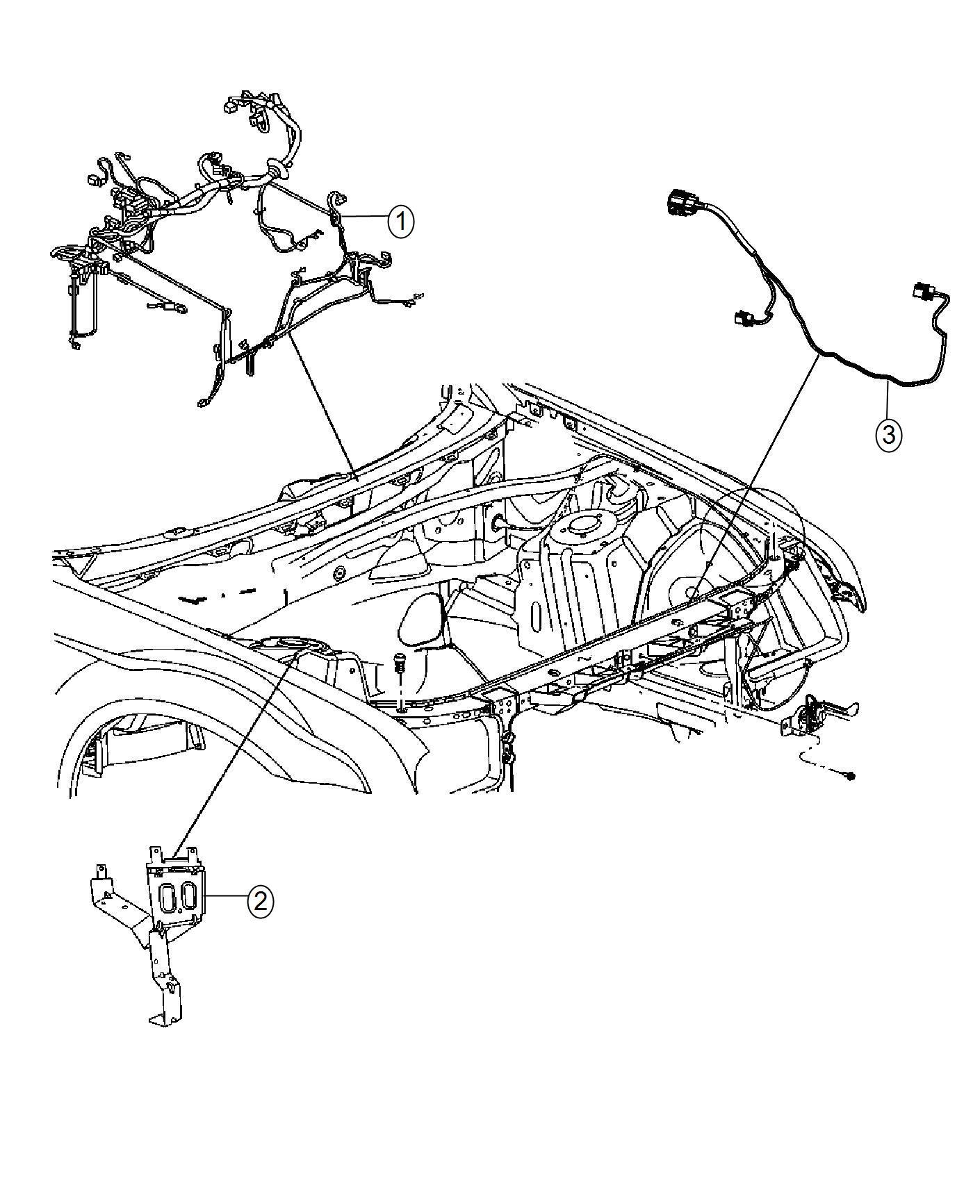 Dodge Charger Headlamp Headlamp To Dash Wiring