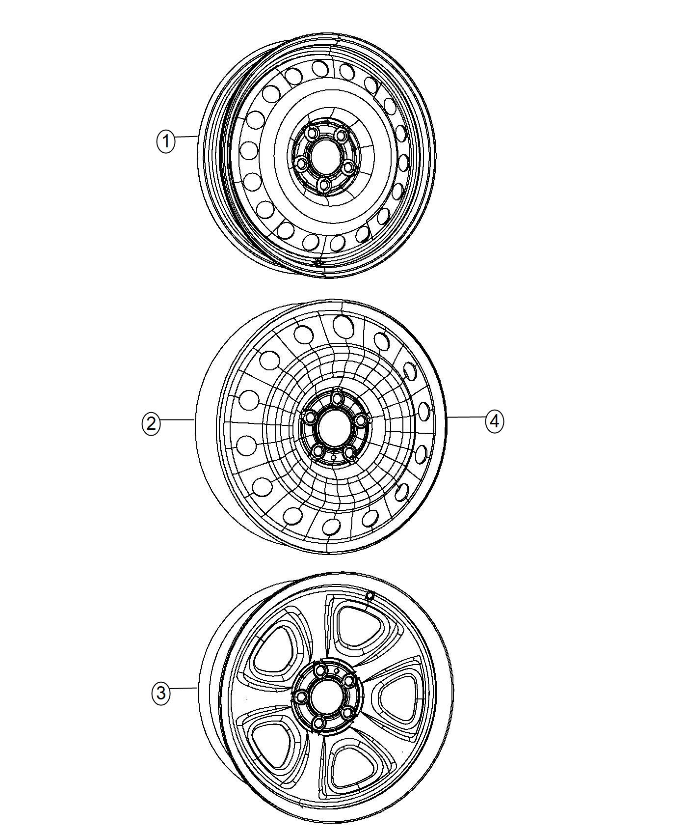 Dodge Charger Wheel Spare Brazil