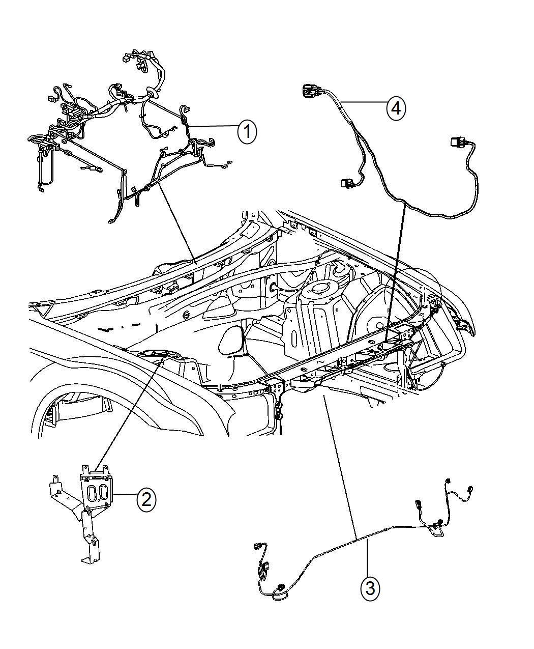 Dodge Challenger Wiring Headlamp To Dash High