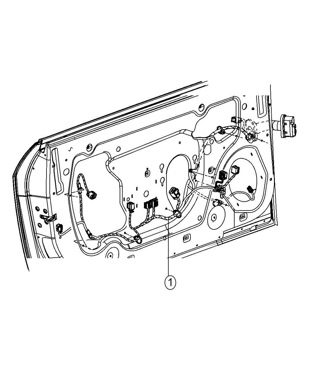 Dodge Challenger Wiring Front Door