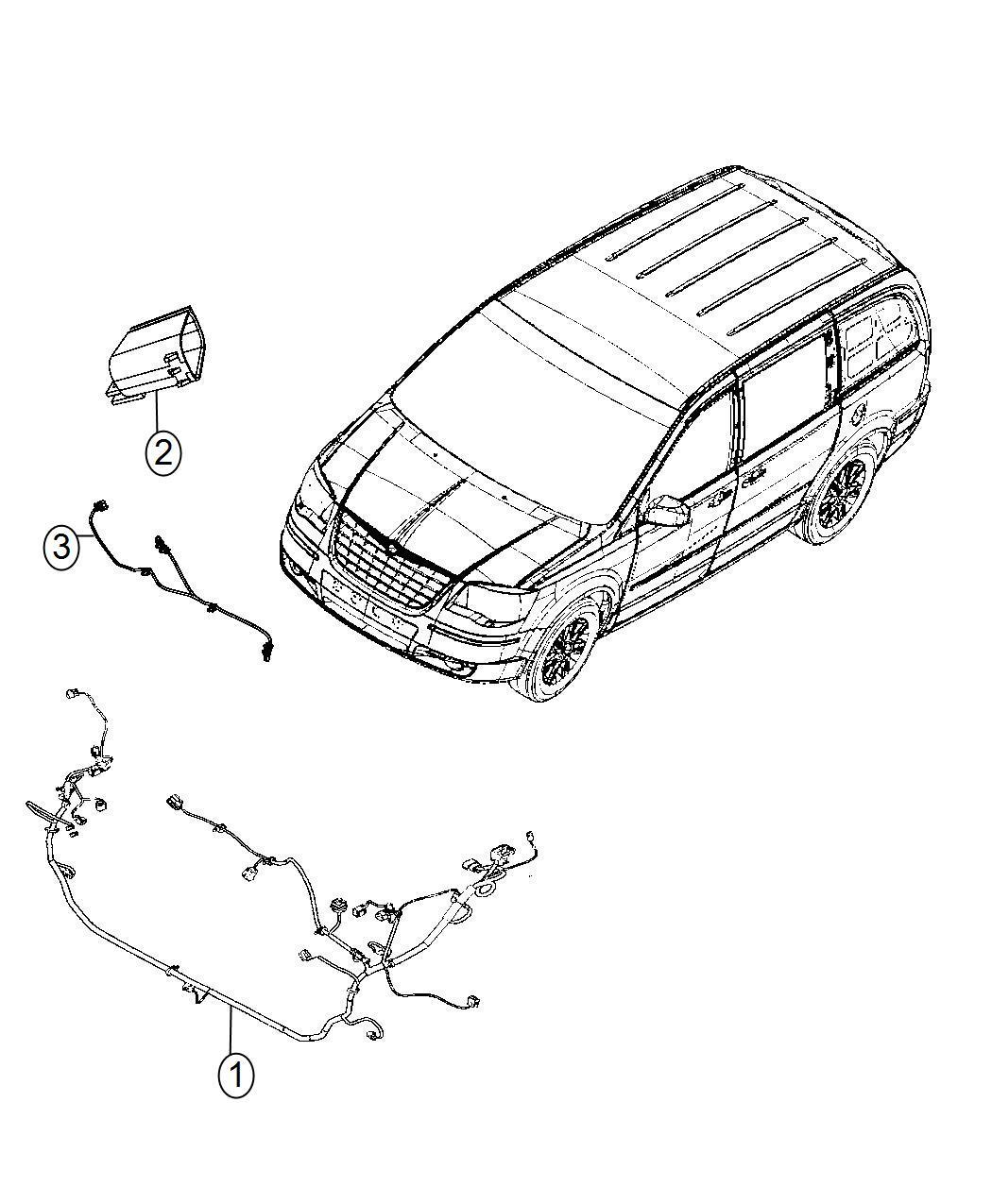 Dodge Grand Caravan Wiring Headlamp Quad Fog Lamps