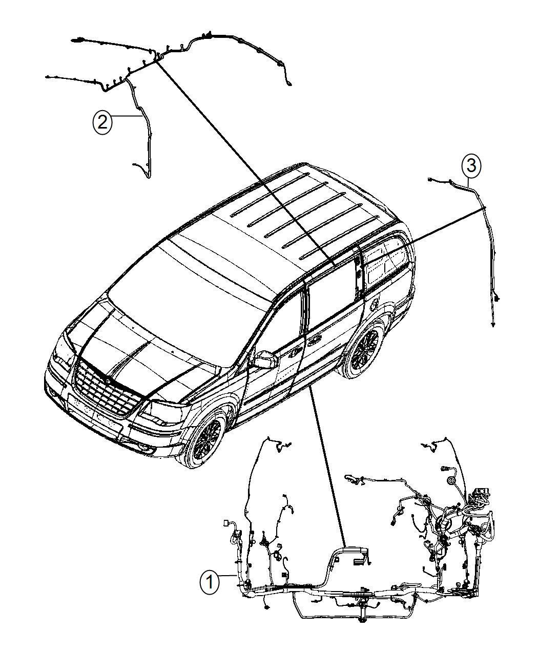 Dodge Grand Caravan Wiring Body C Pillar Power