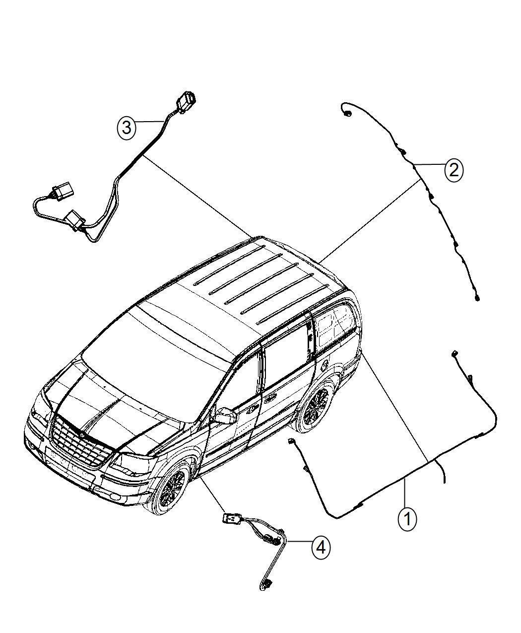 Chrysler Town Amp Country Wiring Kit Trailer Tow Trailer