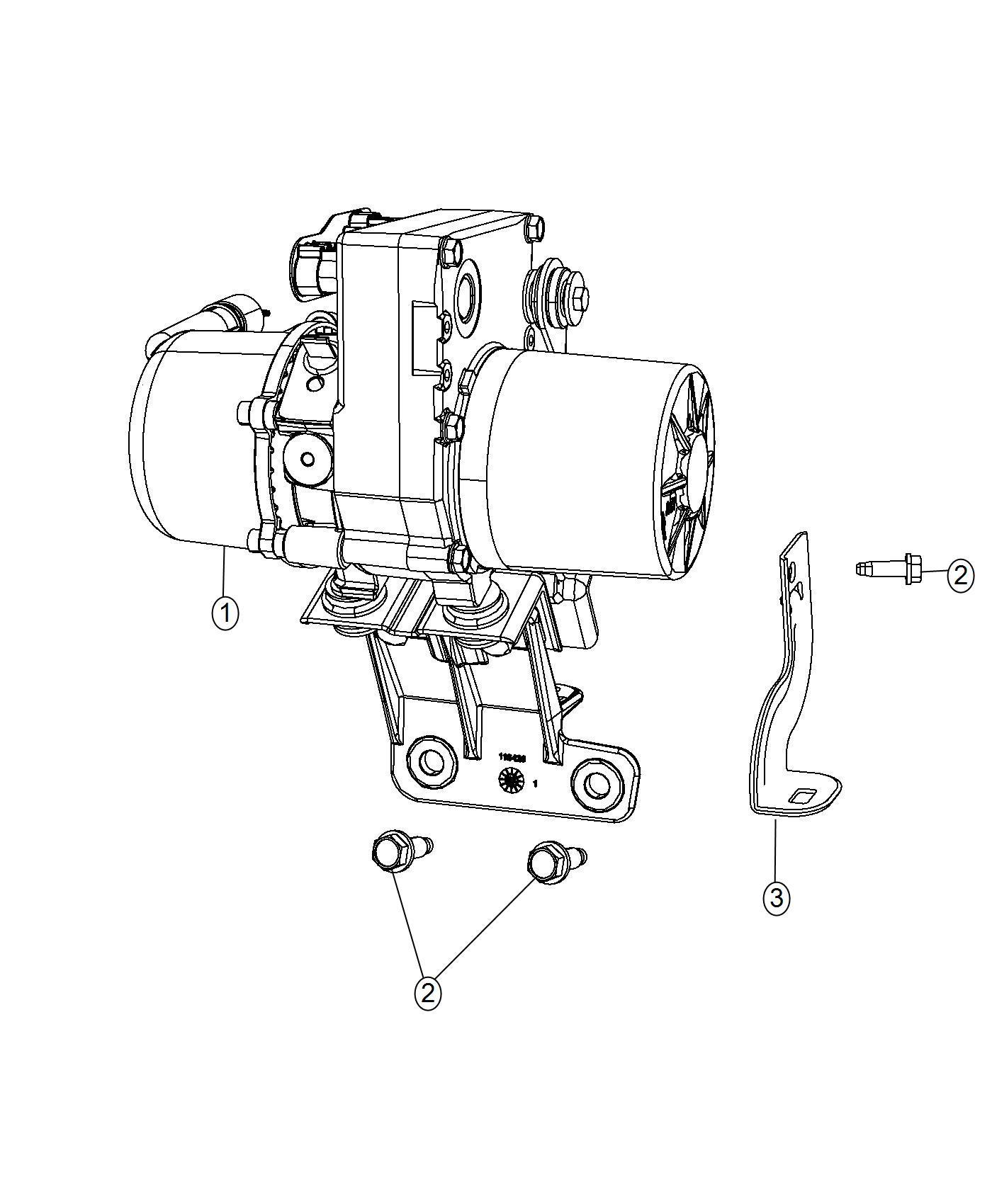 Dodge Durango Pump Power Steering Vvt Engine