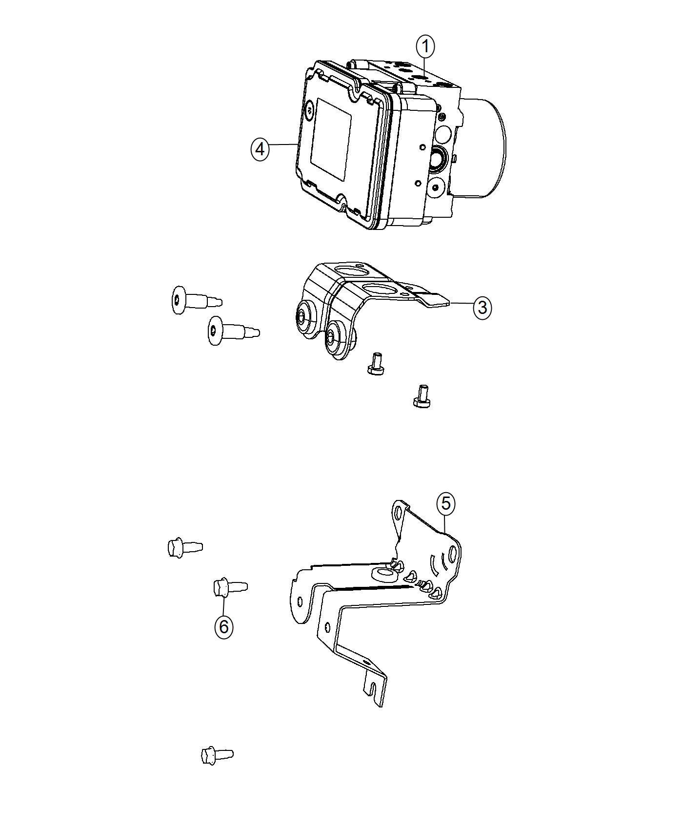Jeep Cherokee Module Anti Lock Brake System