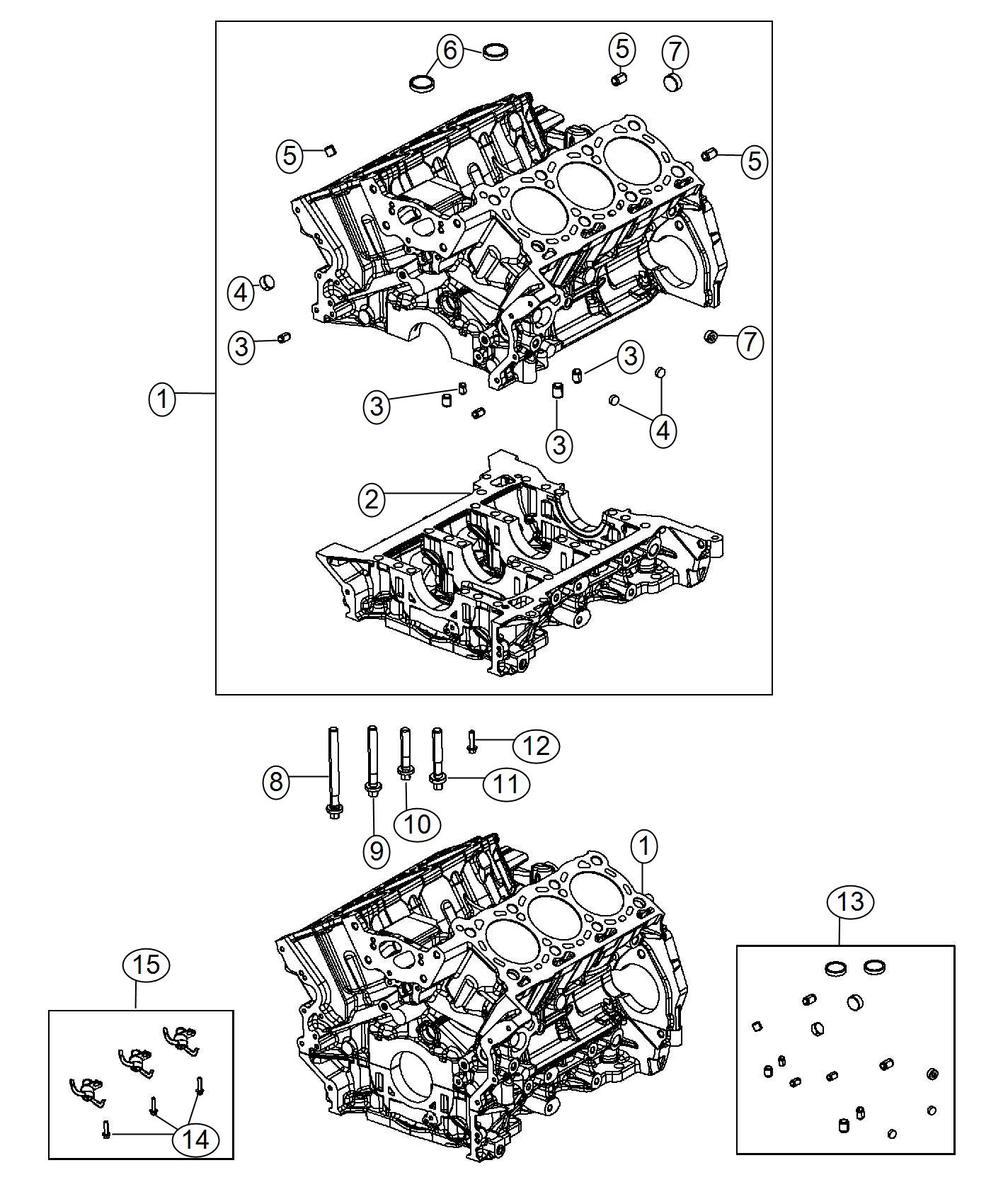 Ram Hardware Kit Cylinder Block Emissions