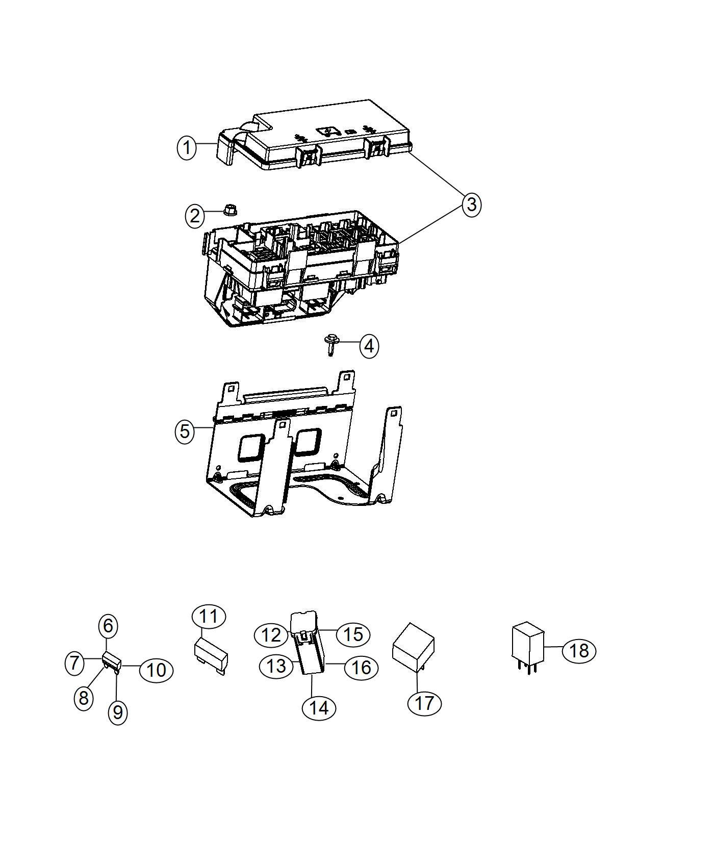 Jeep Wrangler Holder Fuse Includes 10 Amp Mini Fuse