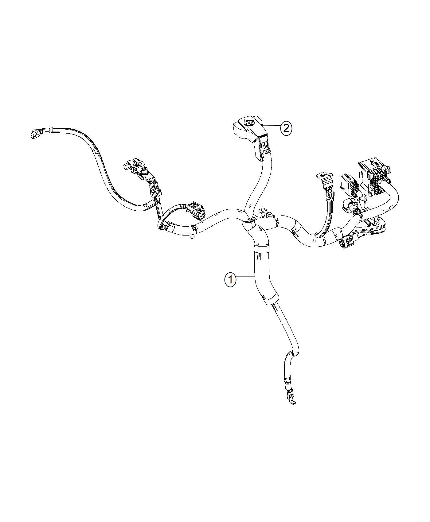 Ram Wiring Used For Battery Alternator And