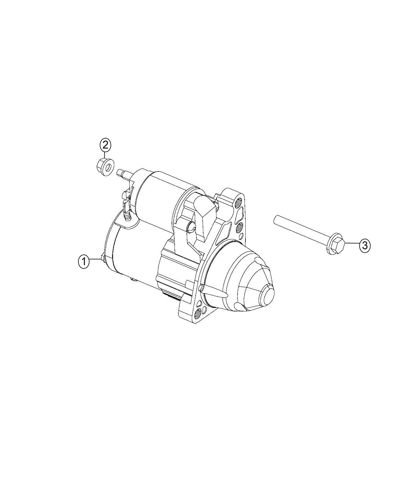 Chrysler 200 Starter Engine New Part For Core