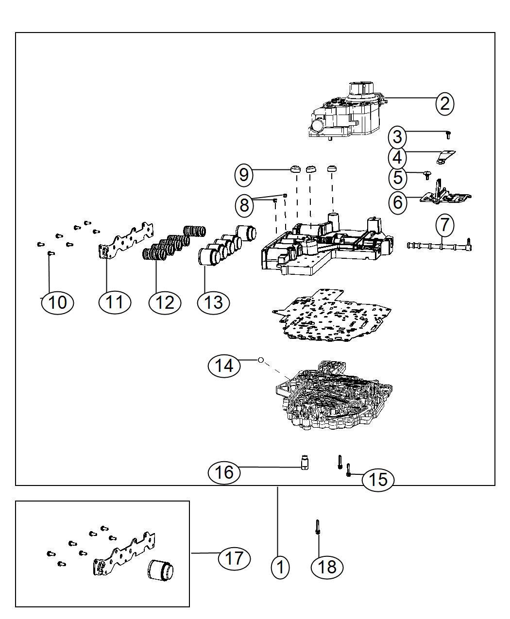 Ram Solenoid Solenoid Package Transmission Valve