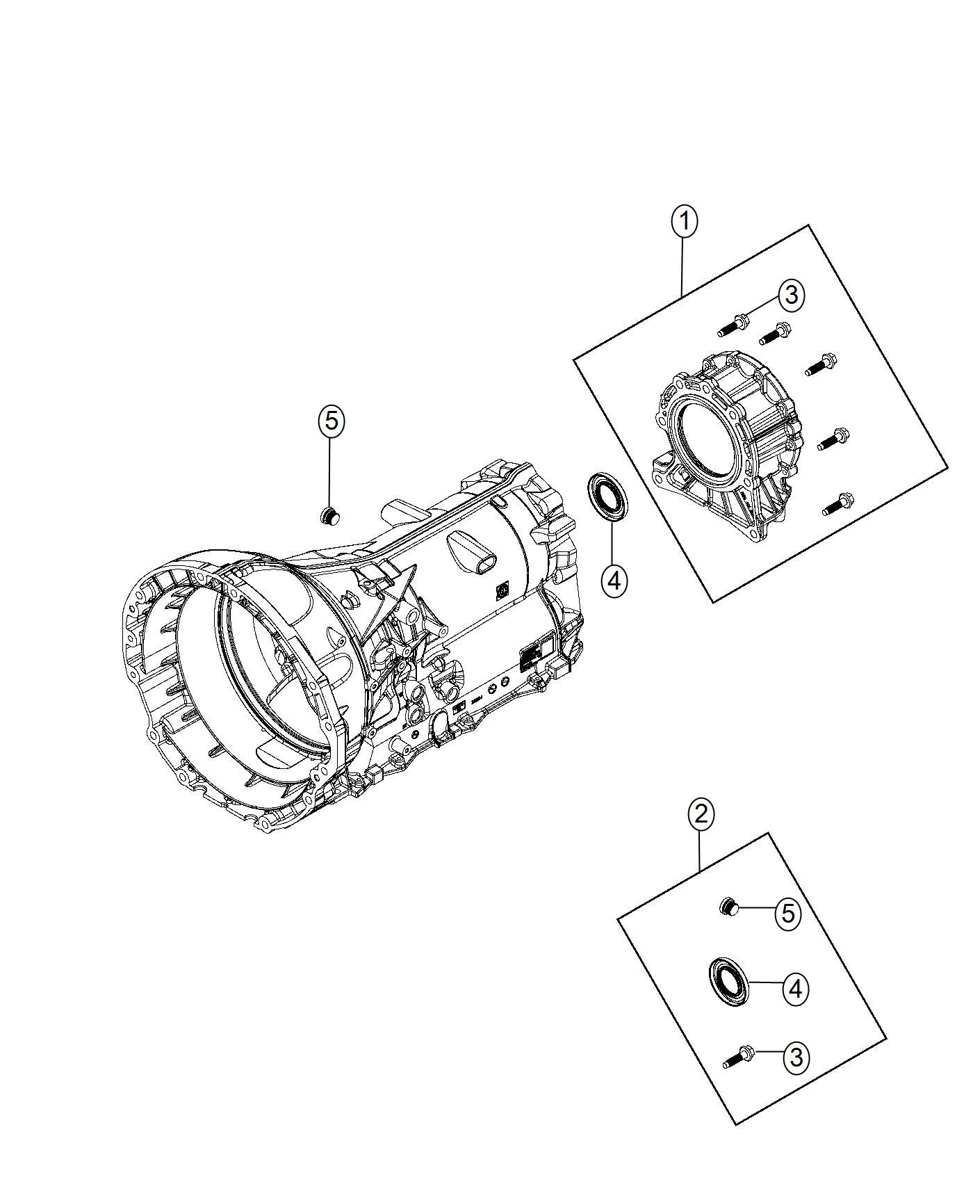 Dodge Durango Adapter Transfer Case