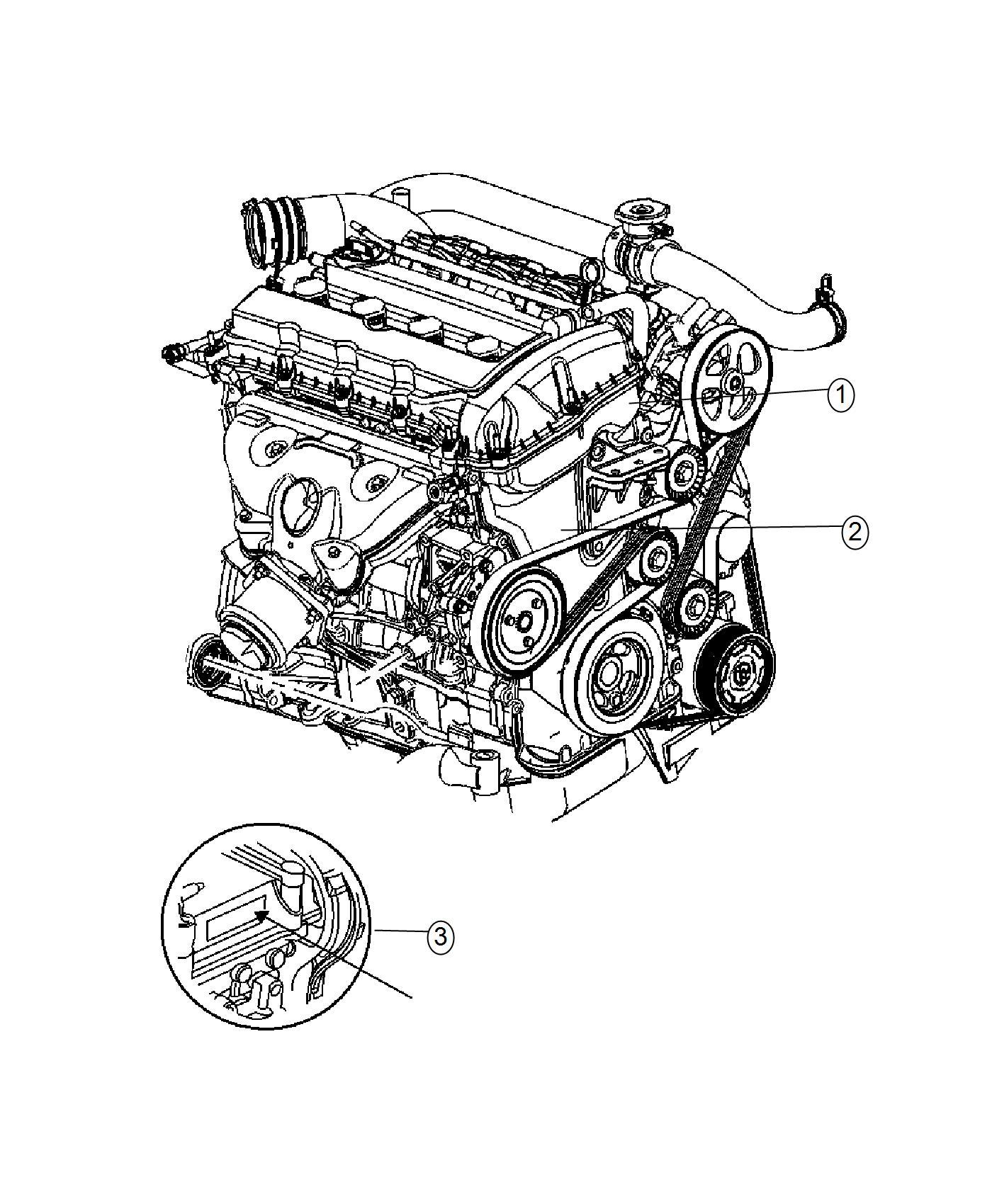 Ram Promaster City Wagon Slt Engine Kit Long Block Flex