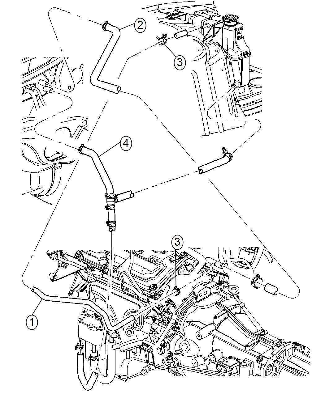 Dodge Caravan Engine Hose Diagram