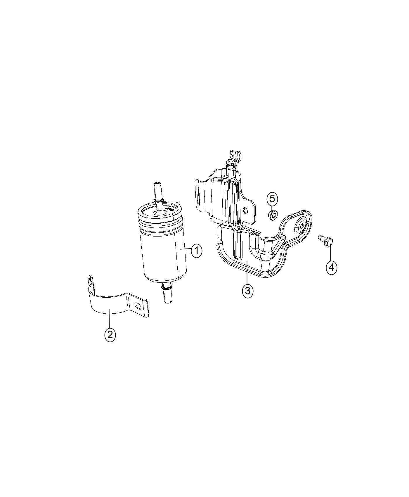 Jeep Renegade Filter Fuel Export Alternate Fuel