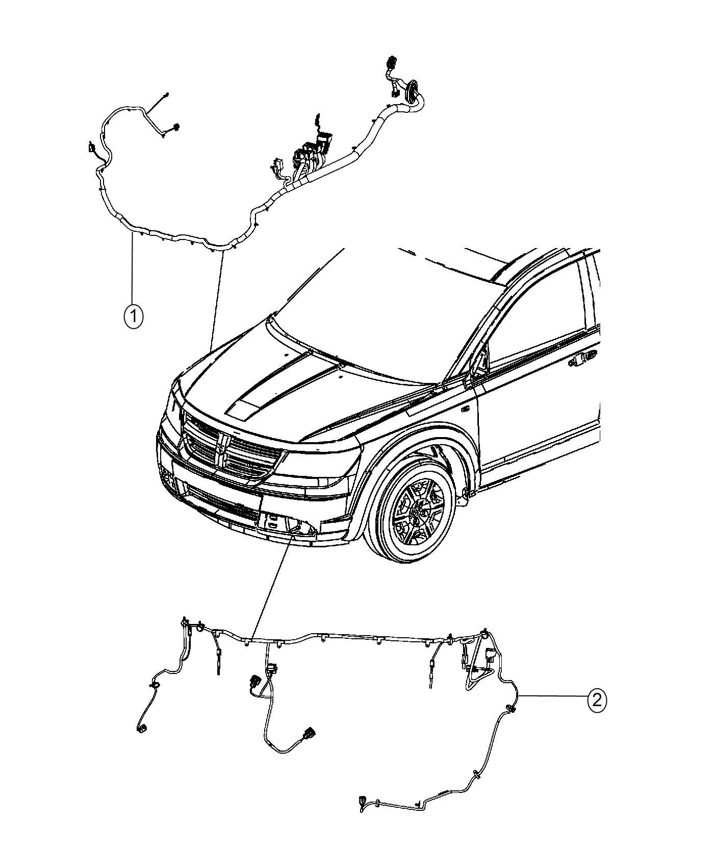 Dodge Journey Wiring Headlamp To Dash Lmf