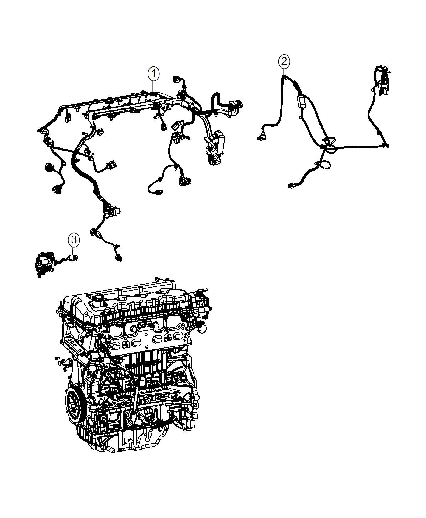 Dodge Dart Wiring Engine Heater W Instrument Pnl