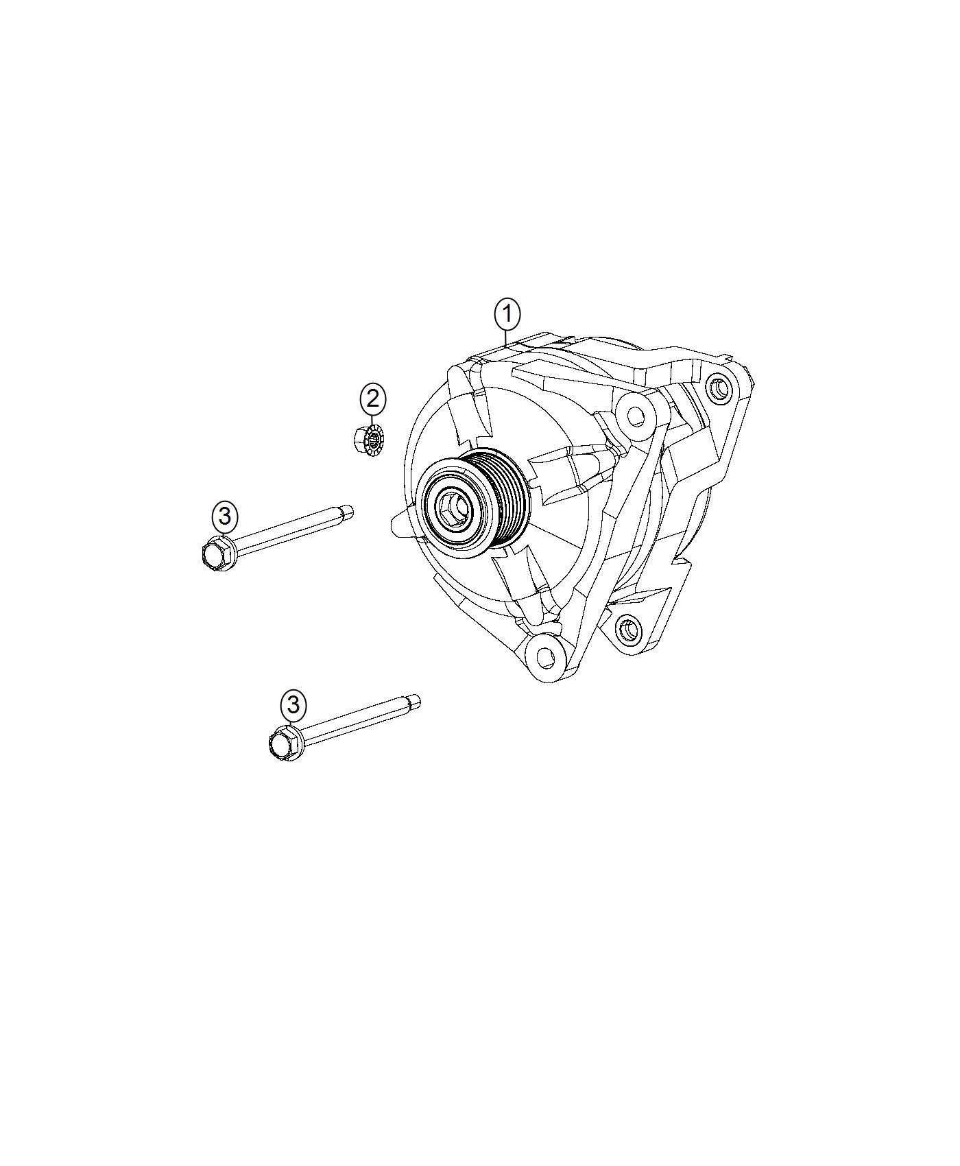 Dodge Viper Generator Engine 180 Amp Alternator