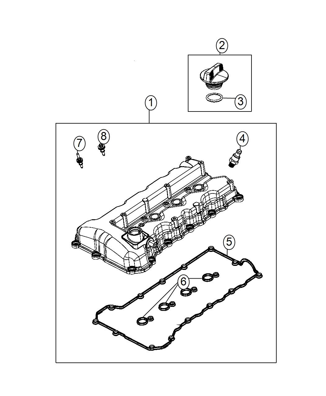 Dodge Dart Cover Cylinder Head
