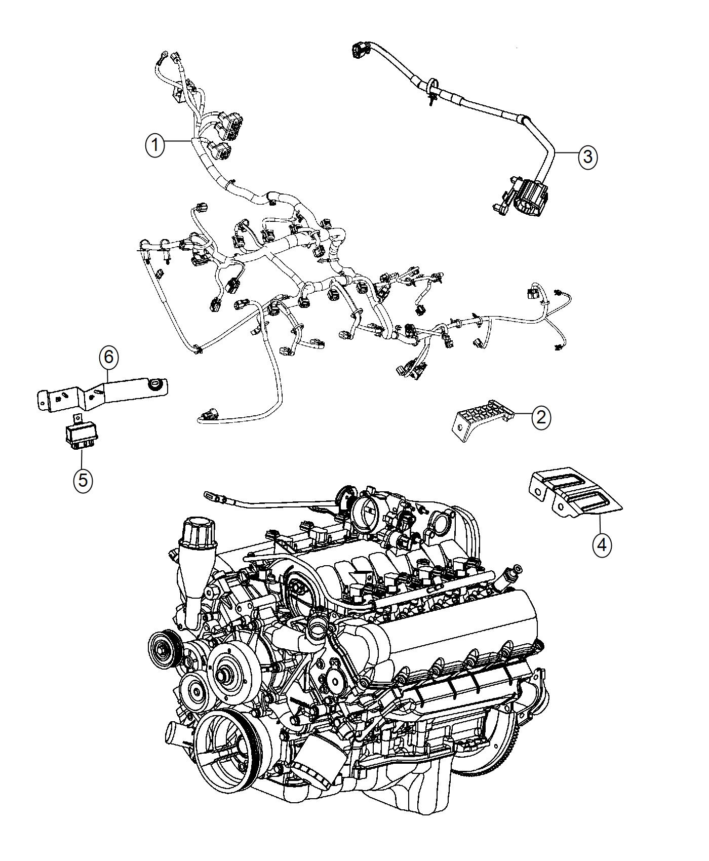 Ram Wiring Jumper Engine Mds Jumper