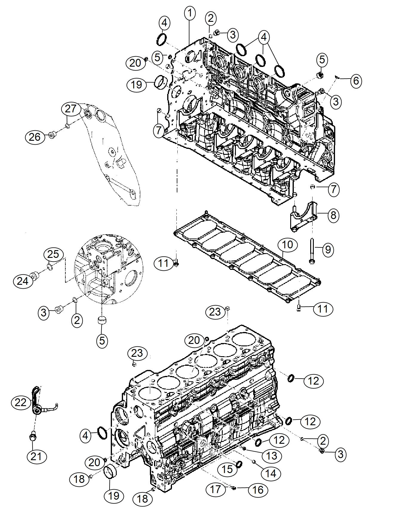 Ram Engine Short Block Remanufactured Emissions