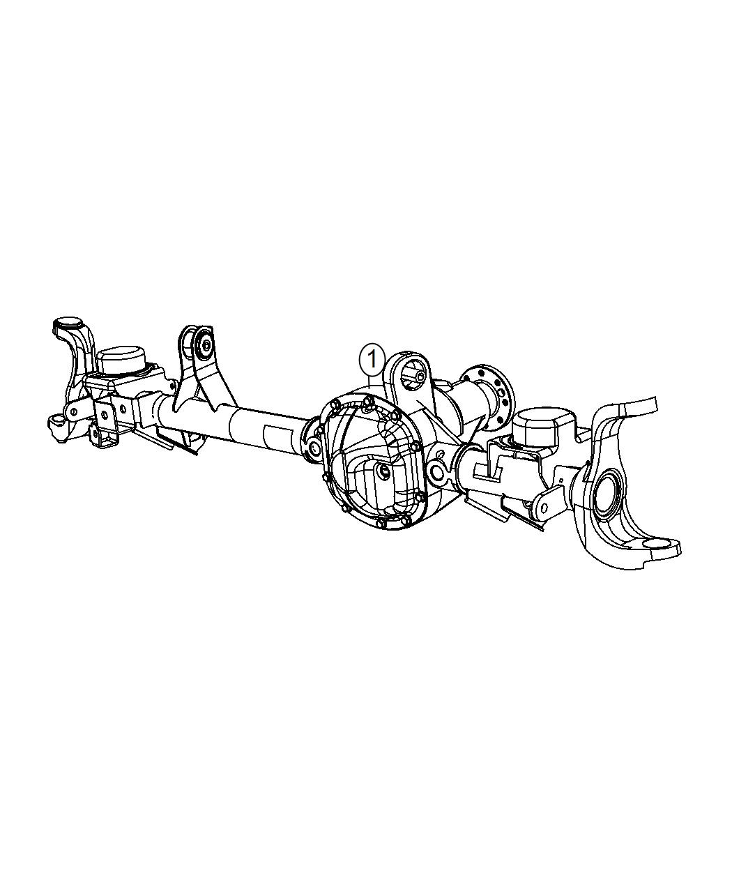 Jeep Wrangler Axle Service Front 3 21 Rear Axle Ratio Conventional Assembly