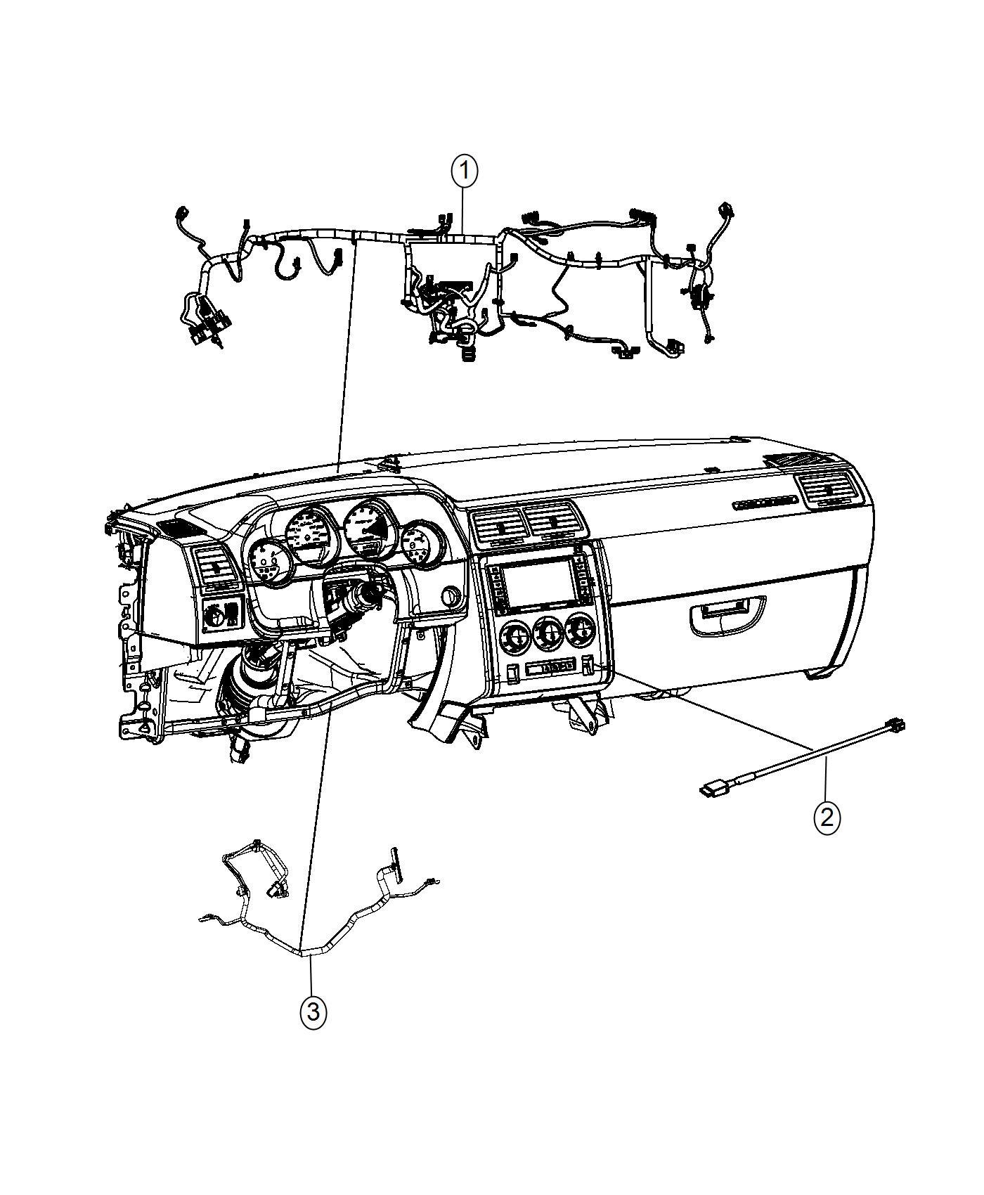 Dodge Challenger Wiring Instrument Panel