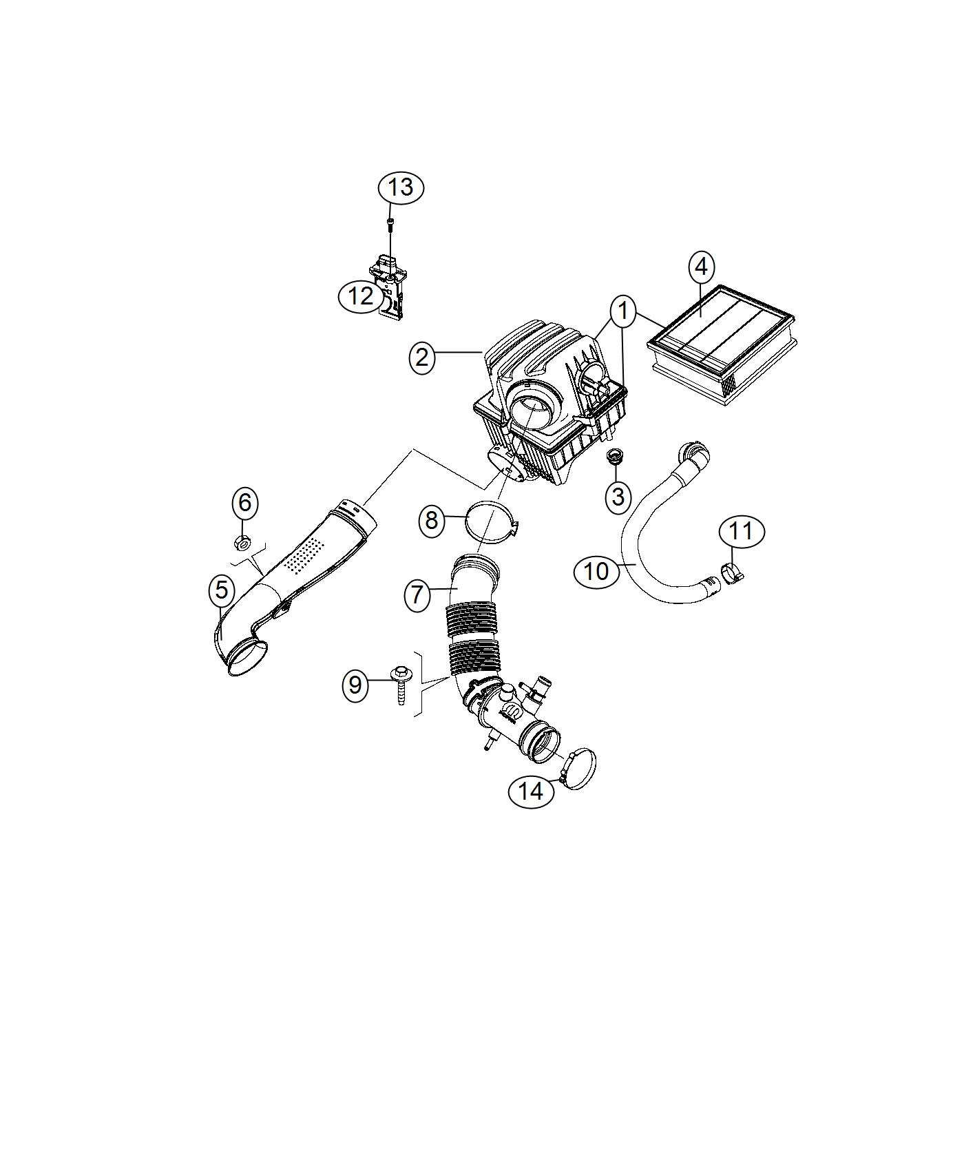 Jeep Renegade Filter Air Export Flex Fuel Vehicle