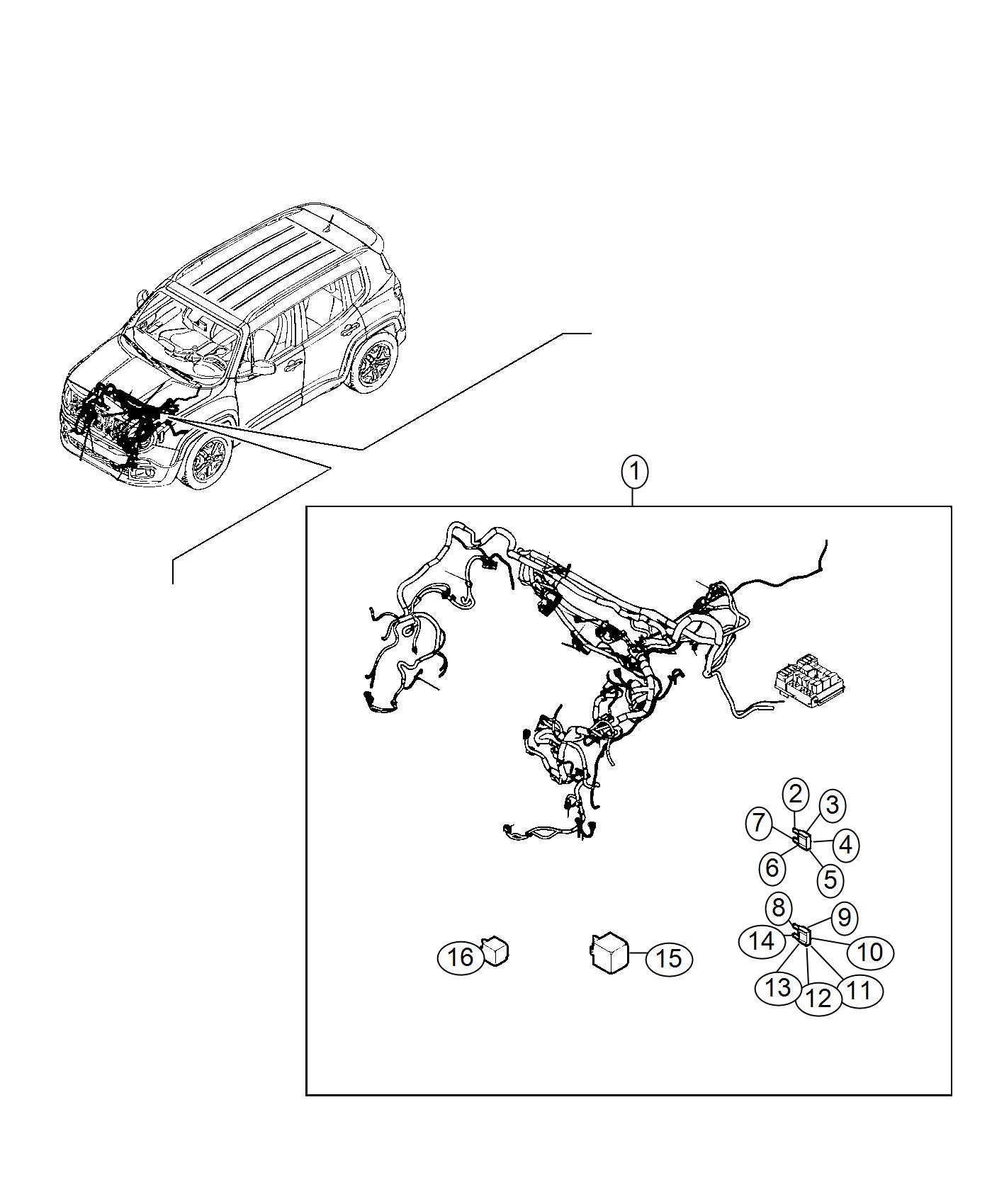 Jeep Renegade Fuse Maxi 40 Amp Orange Canada