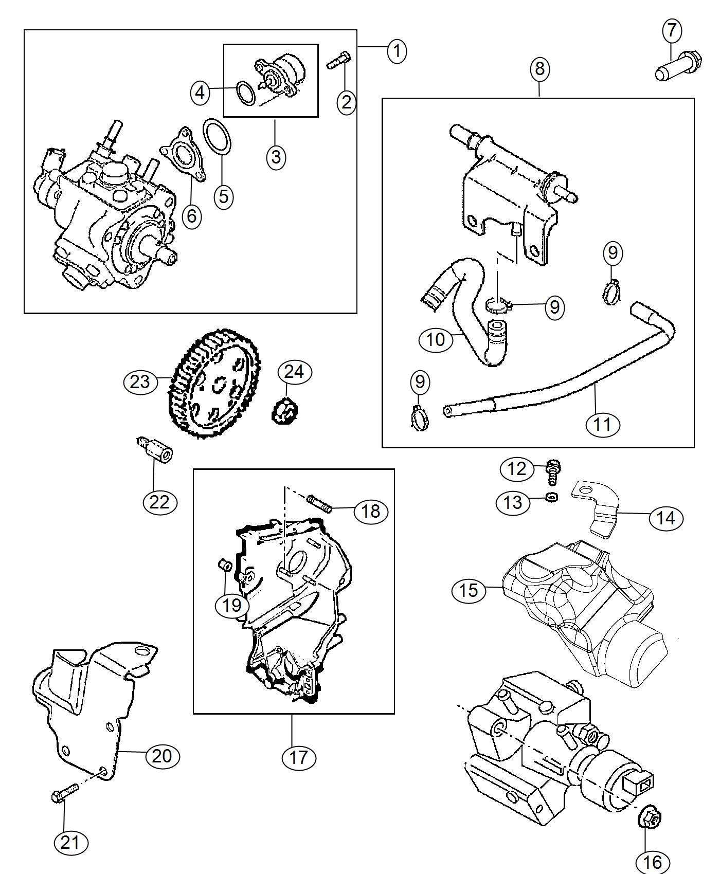 Jeep Cherokee Pump Fuel Injection Engine Emissions