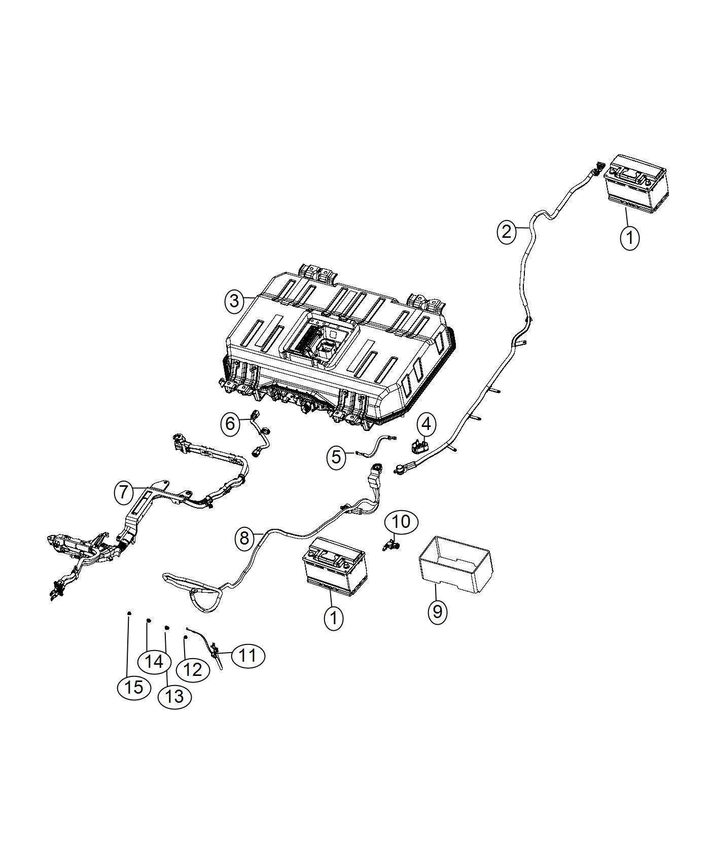 Chrysler Pacifica Wiring Battery Negative Phev