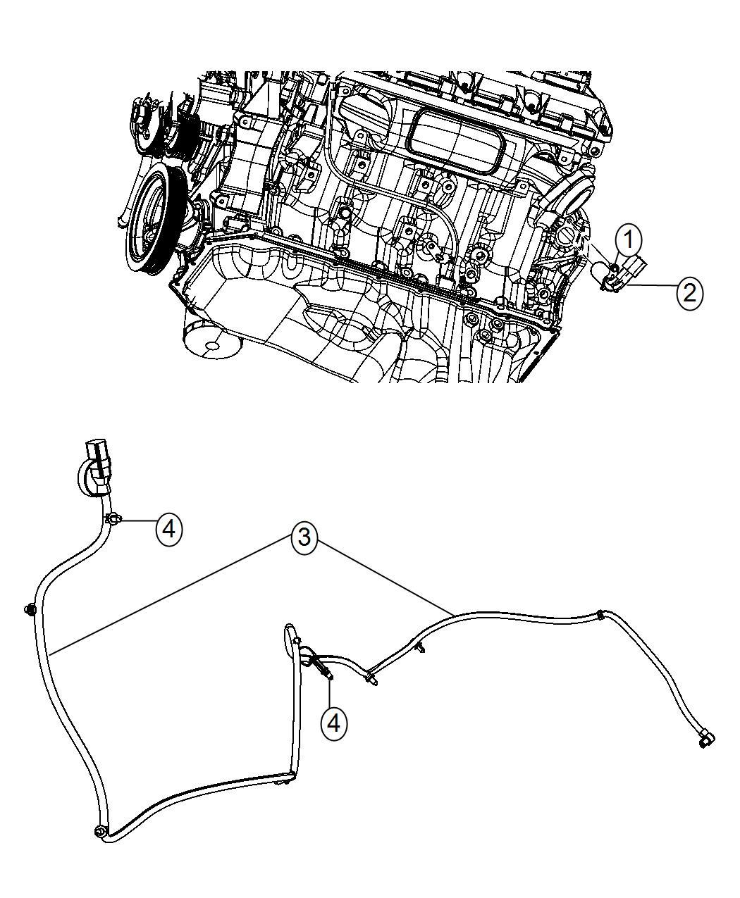 Dodge Ram Cord Engine Block Heater Engine Block