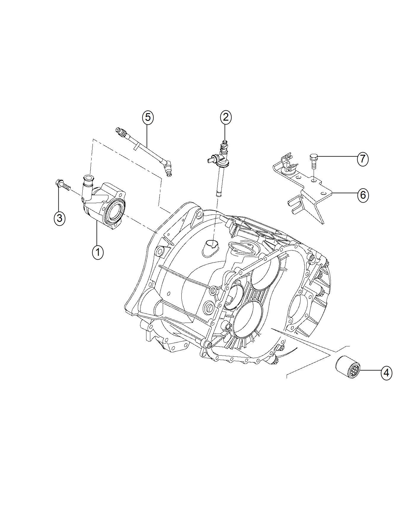 Dodge Ram Bracket Wiring Harness Transmission
