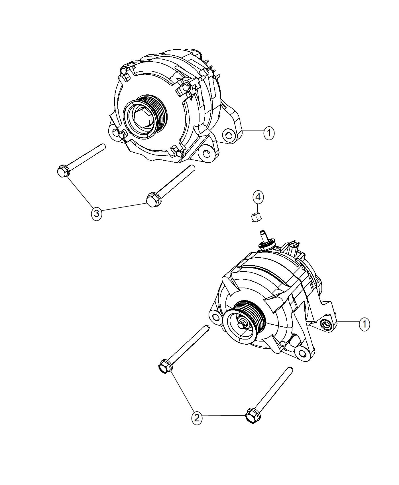 Ram Generator Engine 160 Amp Alternator