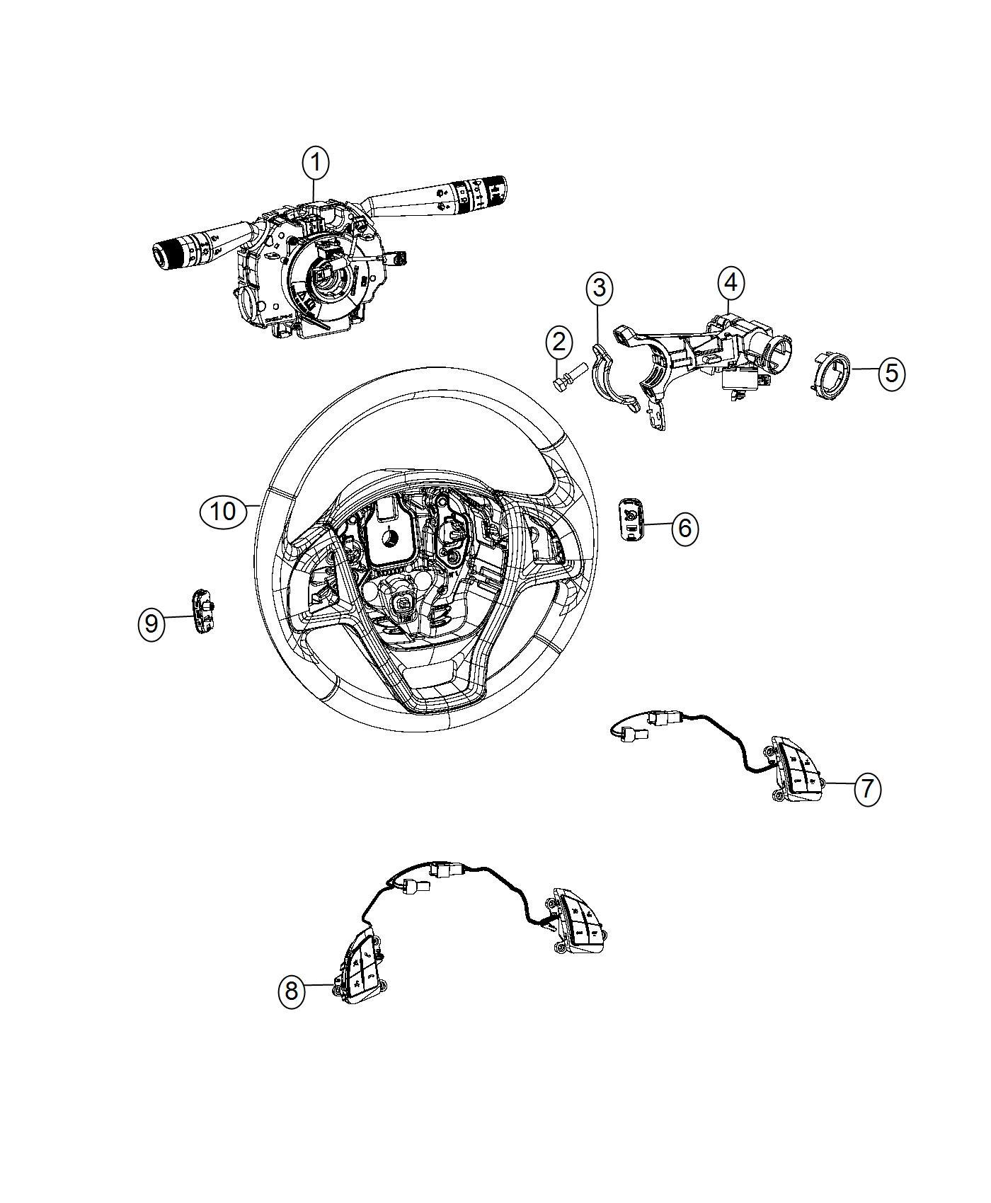 Ram Promaster City Wagon Slt Module Steering Control