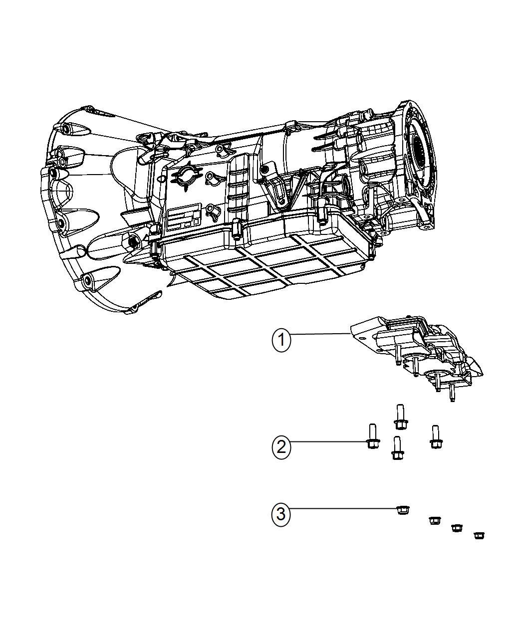 Jeep Wrangler Isolator Transmission Mount