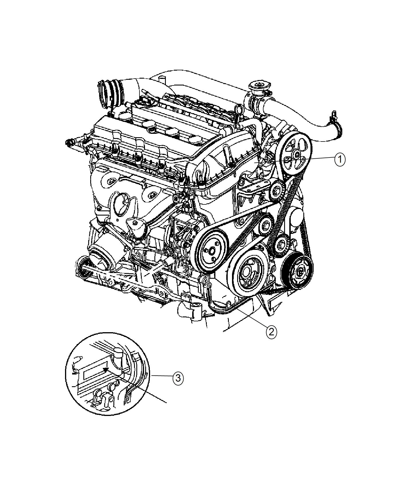 Jeep Renegade Engine Long Block 9 Spd 9hp48 Fwd Awd