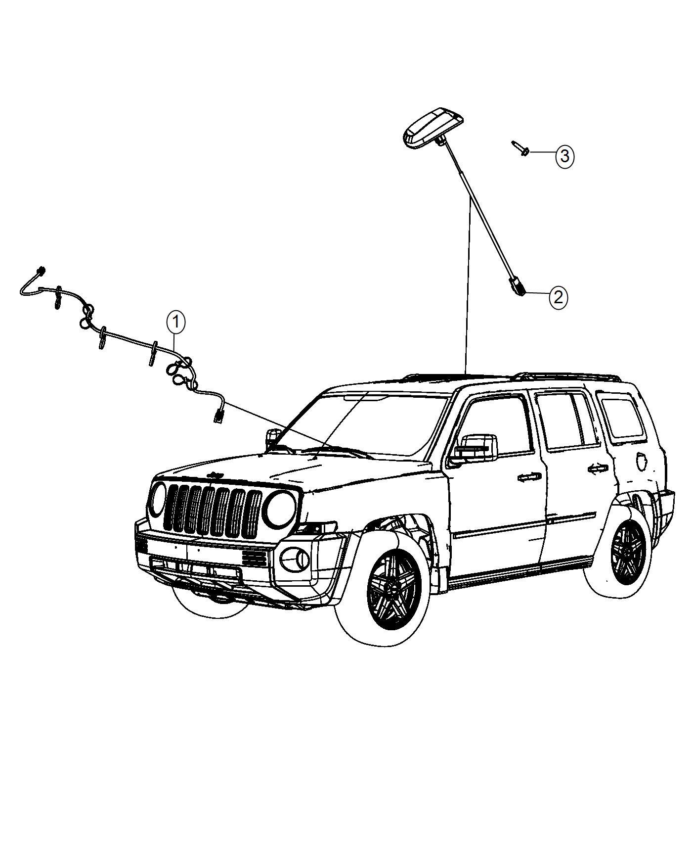 Jeep Patriot Wiring Radio Satellite Digital Audio