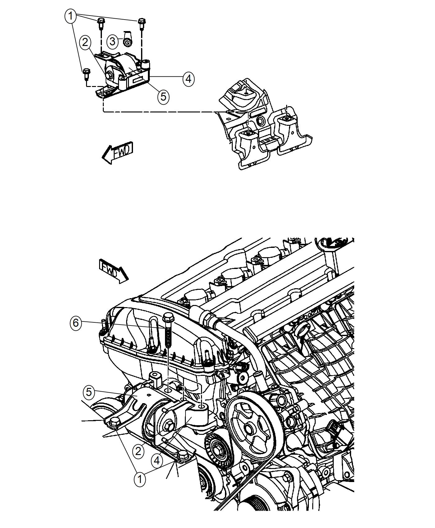 Jeep Compass Used For Bolt And Washer Hex Head