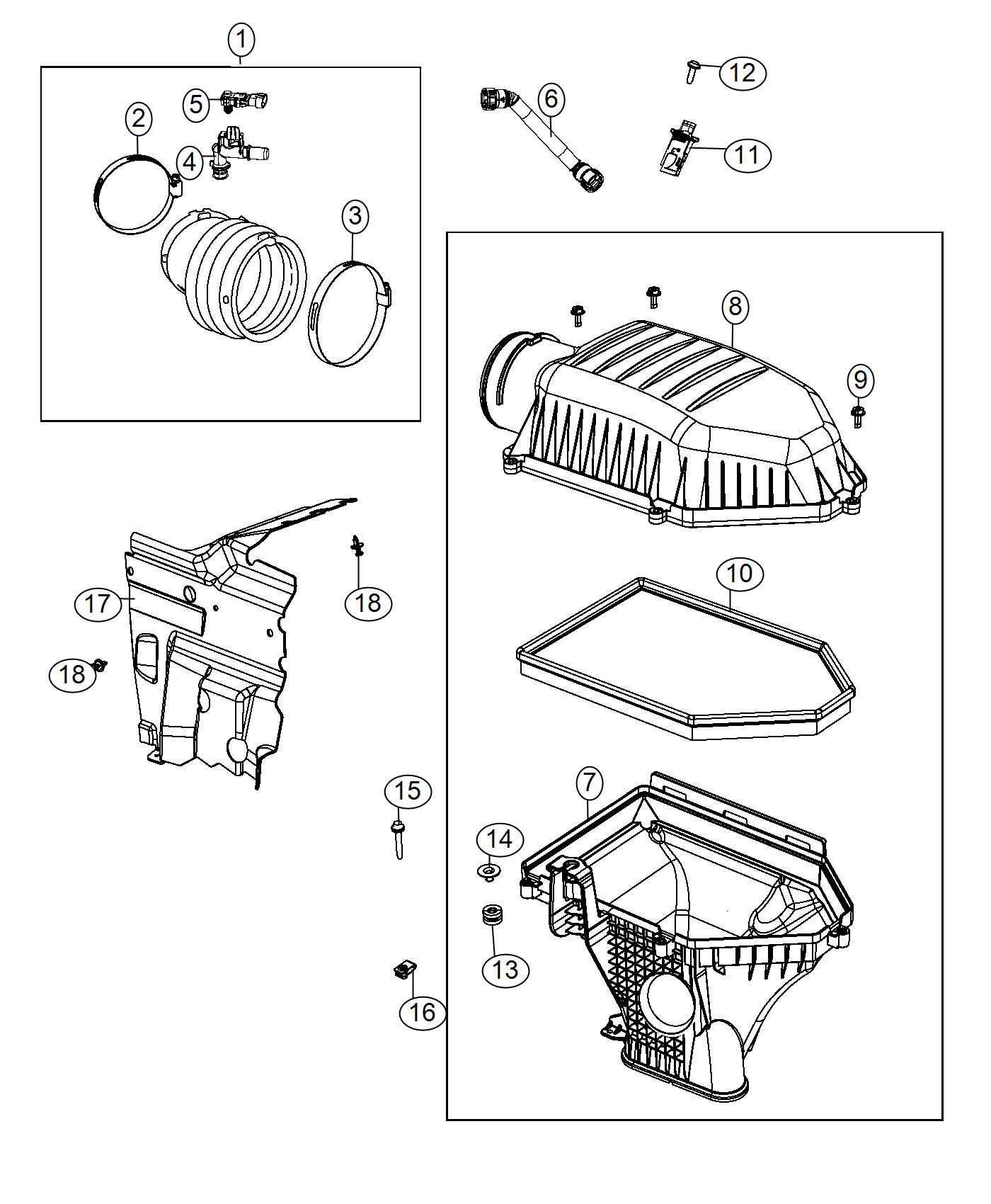 Dodge Challenger Adapter Fuel Pressure Sensor Phev